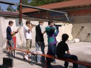 Jugendwochenende - Schiessen mit Luftdruckwaffen auf Field-Target Ziele